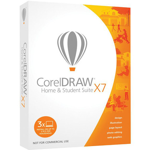 Corel CorelDRAW Home and Student Suite X7 (Download)