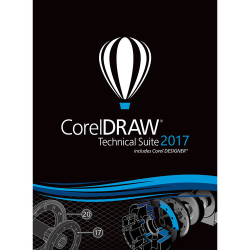 Corel CorelDRAW Technical Suite 2017 (Upgrade Edition, Download)