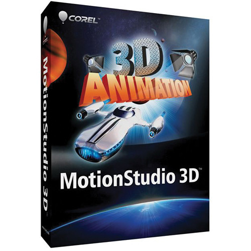 Corel MotionStudio 3D Animation and Effects Software for Windows (Download)