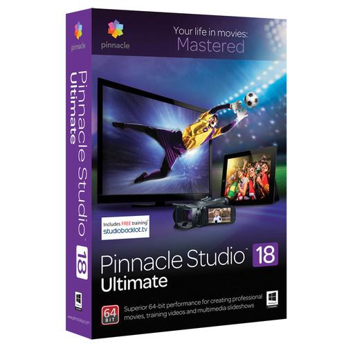 Pinnacle Studio 18 Ultimate Video Editing Software for Windows (Download)