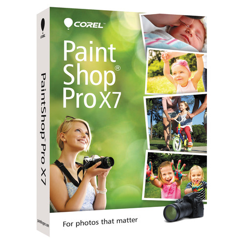 Corel PaintShop Pro X7 (Electronic Download)