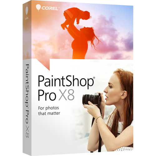 Corel PaintShop Pro X8 (Download)