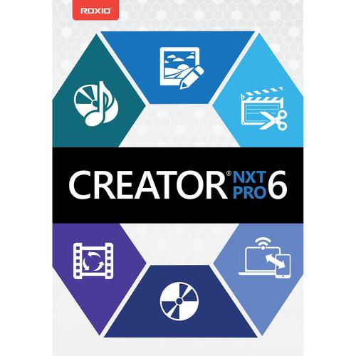 Roxio Creator NXT 6Pro (Electronic Download)