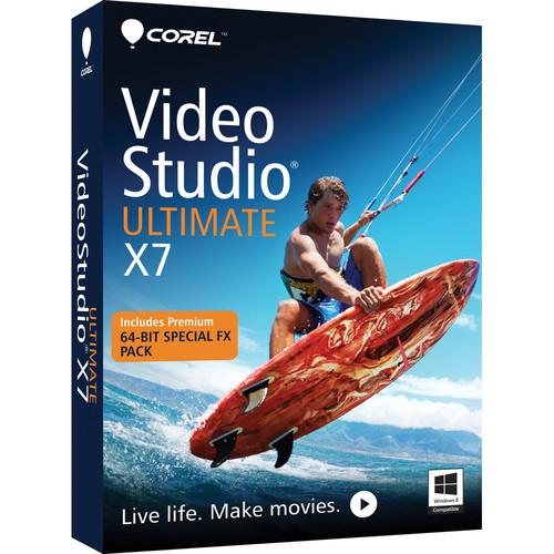 Corel VideoStudio Ultimate X7 Video Editing Software for Windows (Download)
