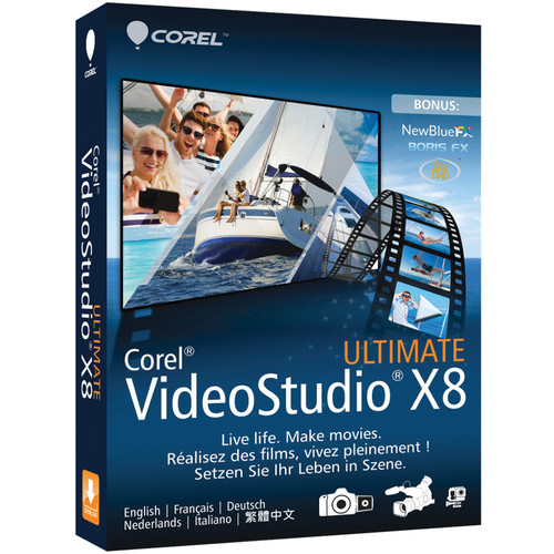 Corel VideoStudio Pro Ultimate X8 (Download)