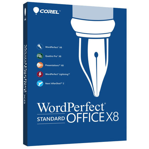 Corel WordPerfect Office X8 Standard Edition (Download)