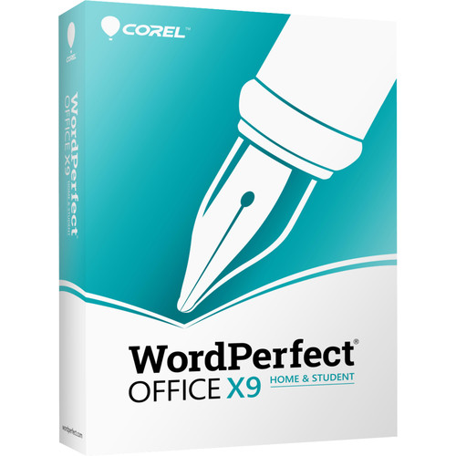 Corel WordPerfect Office X9 Home & Student Edition (Download)