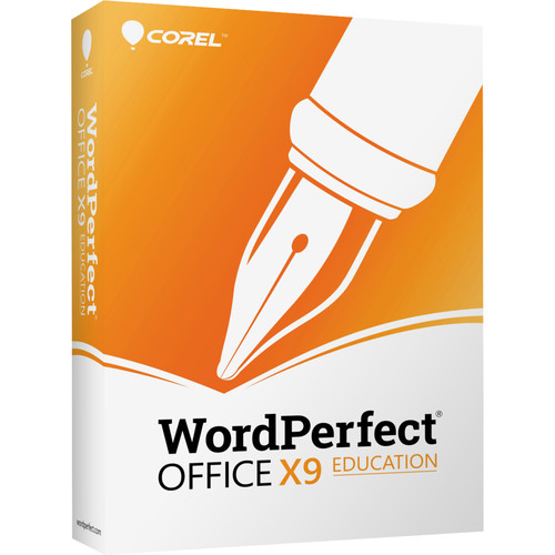 Corel WordPerfect Office X9 Professional Educational Edition (Download)