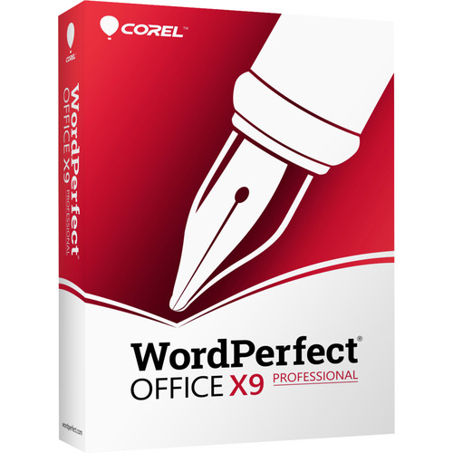 Corel WordPerfect Office X9 Professional Edition Upgrade (Download)