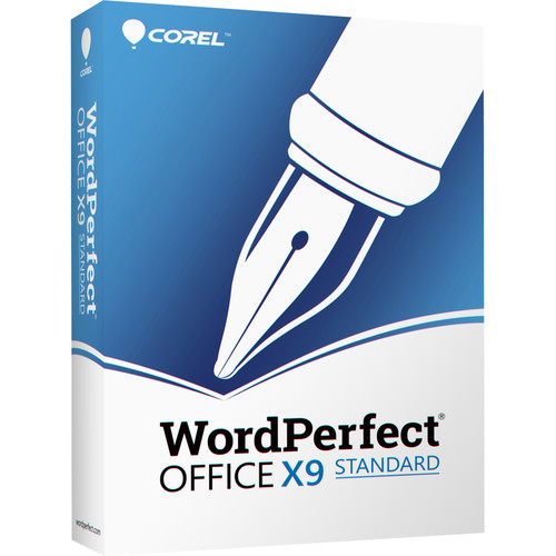 Corel WordPerfect Office X9 Standard Edition Upgrade (Download)