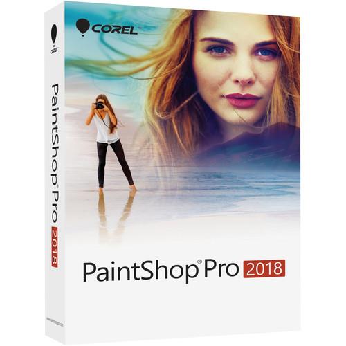 Corel PaintShop Pro 2018 (DVD with Download Card)