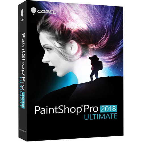 Corel PaintShop Pro 2018 Ultimate (DVD with Download Card)