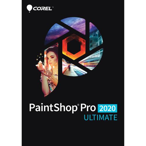 Corel PaintShop Pro 2020 Ultimate (DVD with Download Card)