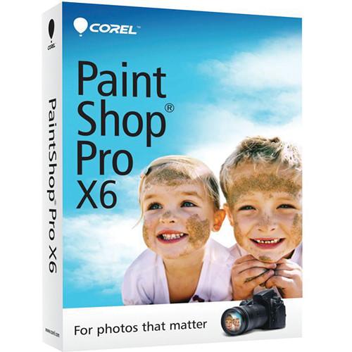 Corel PaintShop Pro X6 (Mini-Box)