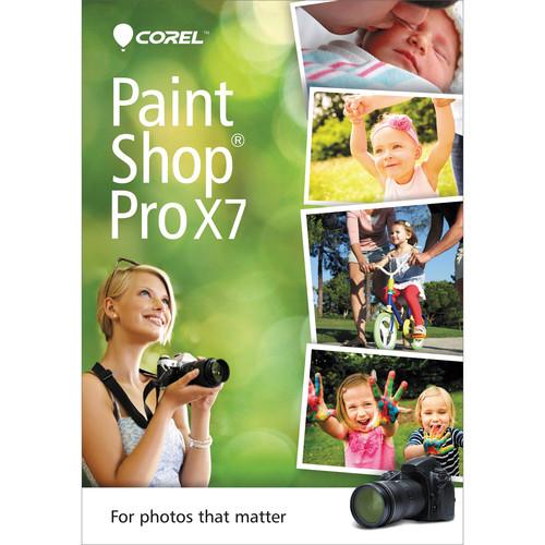 Corel PaintShop Pro X7 (DVD)