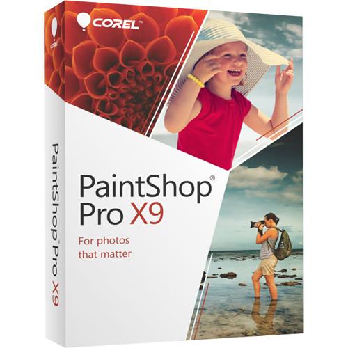Corel PaintShop Pro X9 (DVD)