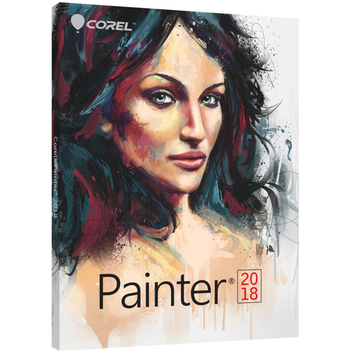 Corel Painter 2018 (Multi-Lingual Education Edition, Boxed)