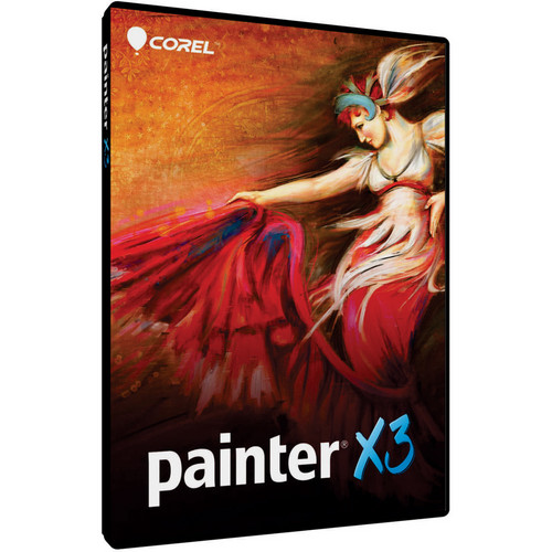 Corel Painter X3 Software (Painter 11/12 to X3 Upgrade, Boxed)