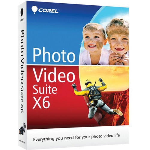 Corel Photo Video Suite X6 (Mini-Box)