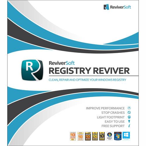Corel ReviverSoft Registry Reviver (1-Year Subscription, Download)