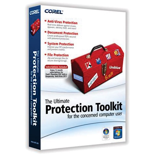 Corel Ultimate Protection Toolkit