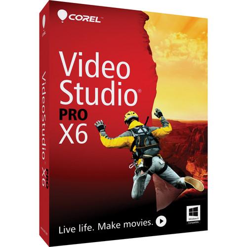 Corel VideoStudio Pro X6 Video-Editing Software