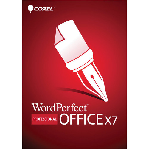 Corel WordPerfect Office X7 Professional Edition Upgrade (DVD)