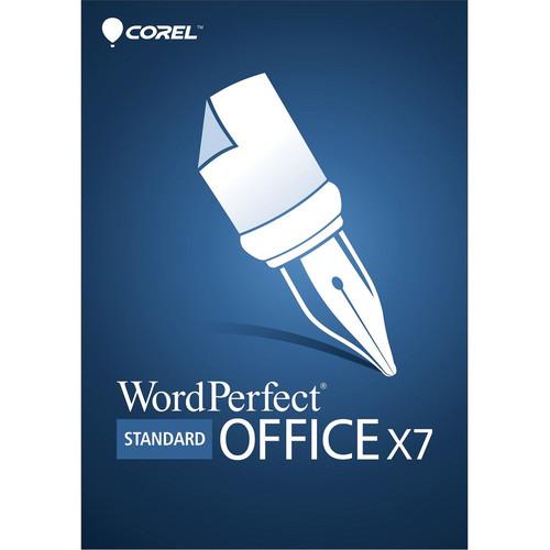 Corel WordPerfect Office X7 Standard Edition (Mini-Box)