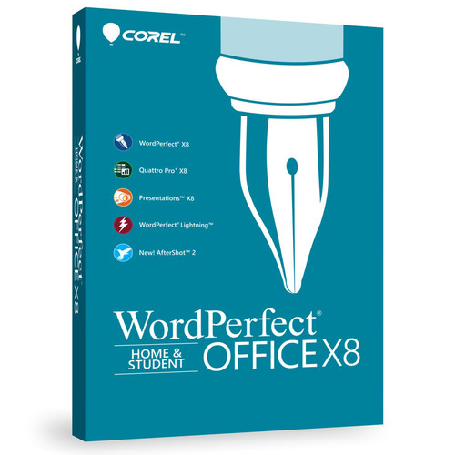 Corel WordPerfect Office X8 Home & Student Edition (Boxed)