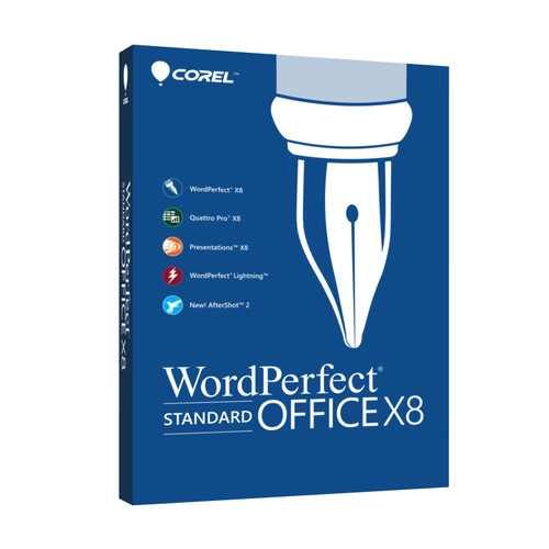Corel WordPerfect Office X8 Standard Edition (Boxed)