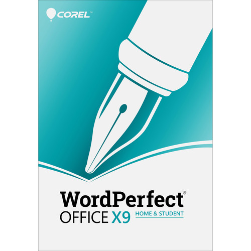 Corel WordPerfect Office X9 Home & Student Edition (Boxed)