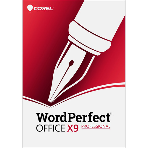 Corel WordPerfect Office X9 Professional Upgrade (DVD)