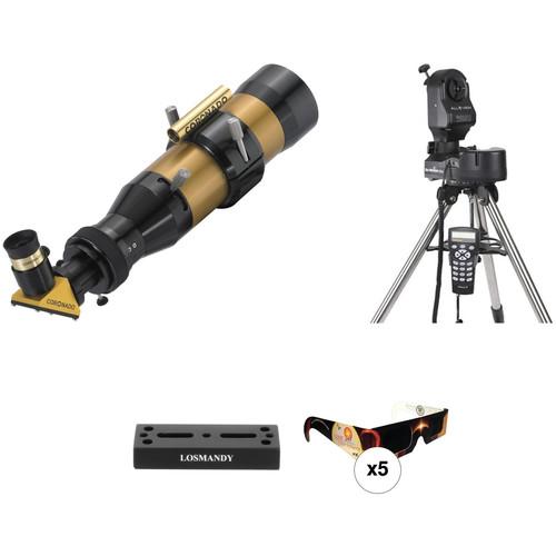 Coronado SolarMax II 60mm f/6.6 H-alpha 10mm Solar GoTo Telescope Kit