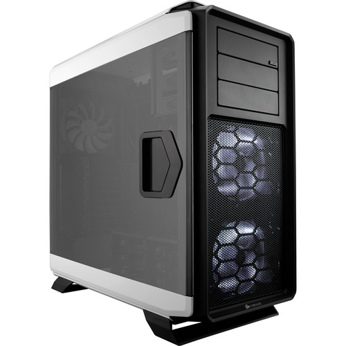 Corsair Graphite Series 760T Full-Tower Windowed Case (Arctic White)