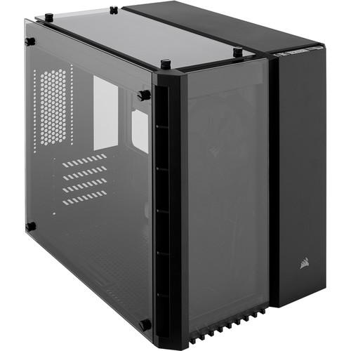 Corsair Crystal Series 280X Tempered Glass Micro-ATX PC Case (Black)