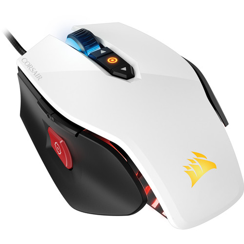 Corsair Gaming M65 RGB Laser Gaming Mouse (White)