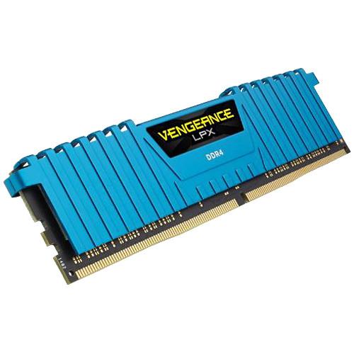 Corsair 16GB Vengeance LPX DDR4 3000 MHz UDIMM Memory Kit (2 x 8GB) (Blue)