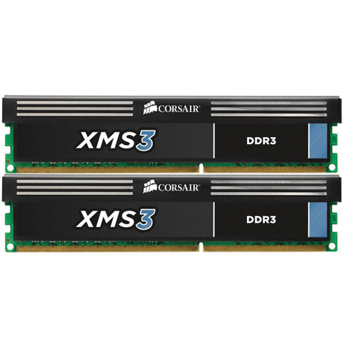 Corsair XMS3 8GB (2 x 4GB) DDR3 DIMM 1600 MHz CL9 Memory Kit