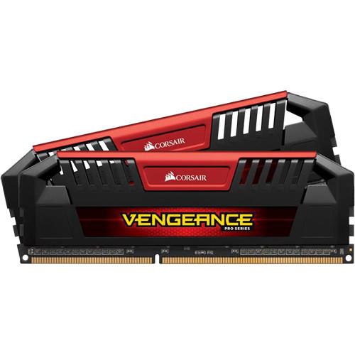Corsair 32GB Vengeance Pro DDR3L 1600 MHz UDIMM Memory Kit (4 x 8GB, Silver)