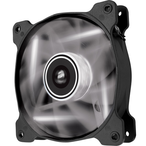 Corsair Air Series AF120 LED White Quiet Edition High Airflow 120 mm Fan (Twin Pack)
