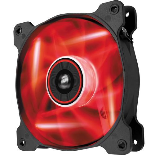 Corsair Air Series SP120 LED Red High Static Pressure 120mm Fan