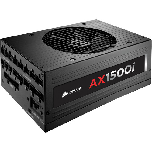 Corsair AX1500i Digital 1500W 80 Plus Titanium Modular Power Supply