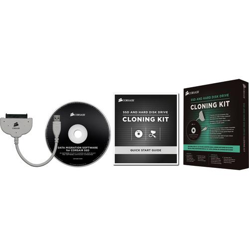 """Corsair 2.5"""" SSD and Hard Disk Drive Cloning Kit"""