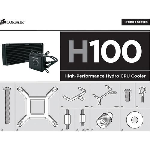 Corsair Hydro Series H60/H80/H100 Universal Bracket Kit