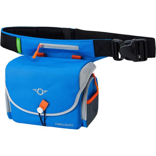COSYSPEED Camslinger Outdoor Camerabag with Belt And Adjustable Bag (Blue)