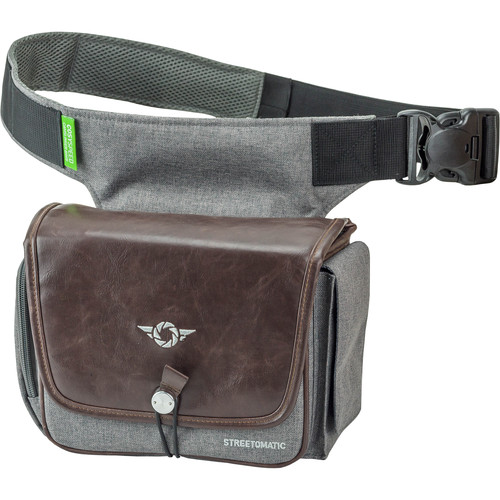 COSYSPEED CAMSLINGER Streetomatic Plus Camera Bag (Brown/Gray)