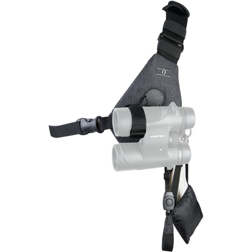 Cotton Carrier Skout Binoculars Sling-Style Harness (Gray)