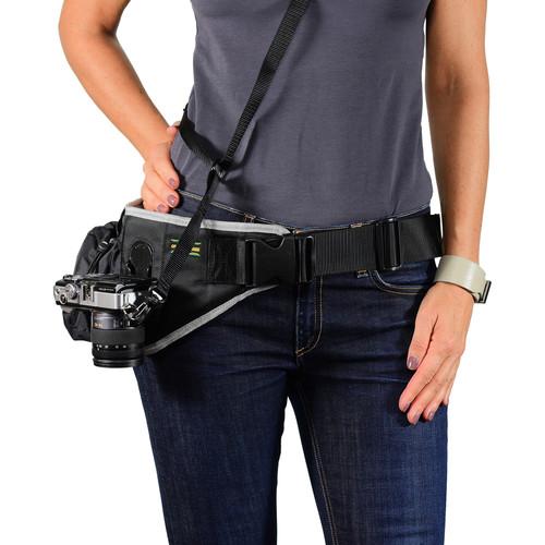 Cotton Carrier Endeavor Belt System for DSLR & Compact Cameras (Black)