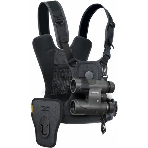 Cotton Carrier CCS G3 Binocular and CameraHarness (Gray)