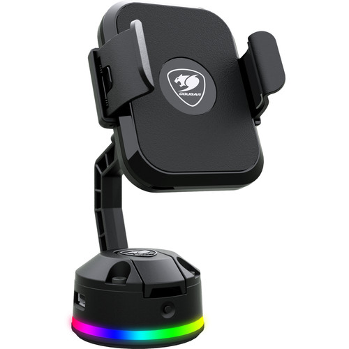 COUGAR Bunker M RGB Wireless Mobile Charging Stand with USB Hub